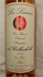 LAURIERS ROSE DE ROTHSCHILD BORDEAUX 750ml