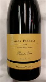 GARY FARRELL HALLBERG PINOT NOIR 2014 WE93 750ml