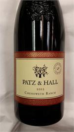 PATZ & HALL PINOT NOIR CHENOWETH 2014 WA94 750ml
