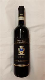 BRUNELLO DI MONTALCINO COLLOSORBO 2013 JS95 VM94 750ml