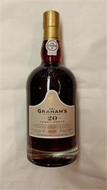 GRAHAM'S 20 YEAR TAWNY PORT 750ml