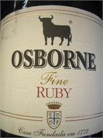 OSBORNE FINE RUBY 750ml