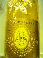 CRISTAL LOUIS ROEDERER 2006 750ml