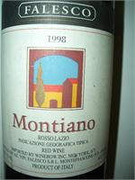 MONTIANO  FALESCO 1998 750ml