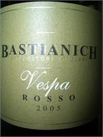 BASTIANICH VESPA ROSSO 750ml