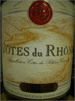 COTES DU RHONE  E. GUIGAL 750ml