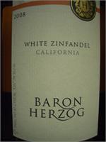 BARON HERZOG WHITE ZINFANDEL 750ml