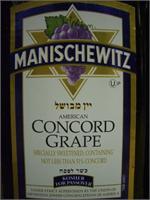MANISCHEWITZ  CONCORD 750ml