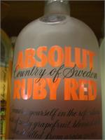 ABSOLUT RUBY RED 1 L