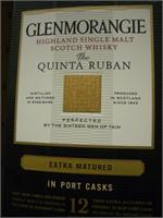 GLENMORANGIE PORT CASK QUINTA RUBAN 750ml