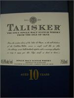 TALISKER MALT SCOTCH 750ml