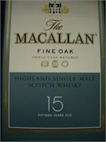MACALLAN  15 YR 750ml