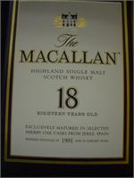 MACALLAN  18 YR 750ml