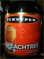 DEKUYPER PEACHTREE SCHNAPPS 750ml