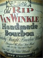 VAN WINKLE HANDMADE BOURBON 10 YR 107 PROOF 750ml
