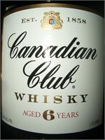 CANADIAN CLUB 6 YR 1.75L