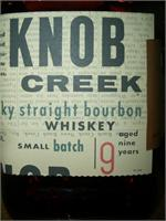 KNOB CREEK BOURBON 100PRF 750ml