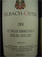 SELBACH OSTER RIESLING SPATLESE WA90 ZELTINGER SCHLOSSBERG 2 750ml
