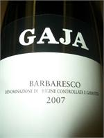 GAJA BARBERESCO 2012 750ml