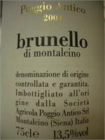 BRUNELLO DI MONT. POGGIO ANTICO 2012 JS95 750ml