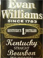 EVAN WILLIAMS WHISKEY 750ml