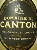 CANTON GINGER LIQUEUR W/ VSOP COGNAC 750ml