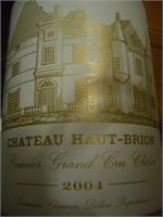 CHT. HAUT BRION 2004 750ml