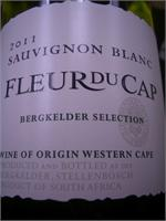 FLEUR DU CAP SAUVIGNON BLANC 750ml
