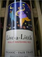 LIVE A LITTLE RAVISHING RED 750ml