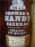 THOMAS HANDY SAZERAC RYE CASK STRENGTH 750ml