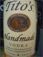 TITOS HAND MADE VODKA 1 L