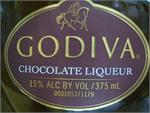 GODIVA CHOCOLATE LIQUER 375ml