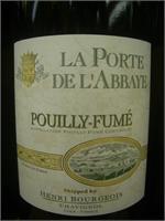 POUILLY-FUME LA PORTE DEL'ABBAYE 750ml