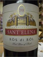 SANT'ELENA ROS DI ROL FRIULI MERLOT-CABERNET 750ml