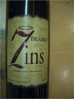 SEVEN DEADLY ZINS 750ml