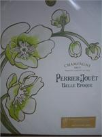 PERRIER JOUET FLEUR GIFT SET W/ 2 GLASSES 750ml