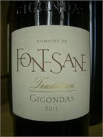 GIGONDAS FONT-SANE TRADITION 750ml
