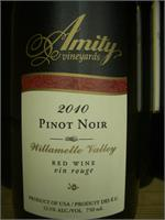 AMITY PINOT NOIR WILLAMETTE 750ml