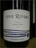 FIVE RIVERS PINOT NOIR 750ml