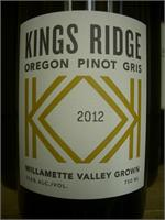 KINGS RIDGE PINOT GRIS OREGON 750ml