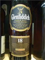 GLENFIDDICH 18 YRS. SINGLE MALT 750ml