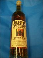 HIGH WEST DOUBLE RYE! WHISKEY 750ml
