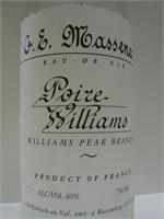 G.E. MASSENEZ POIRE  WILLIAMS BRANDY 750ml